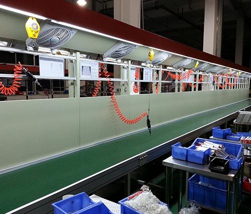 影响LED工业流水线生产运作过程中的因素