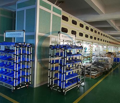 LED路灯组装老化一体化生产线